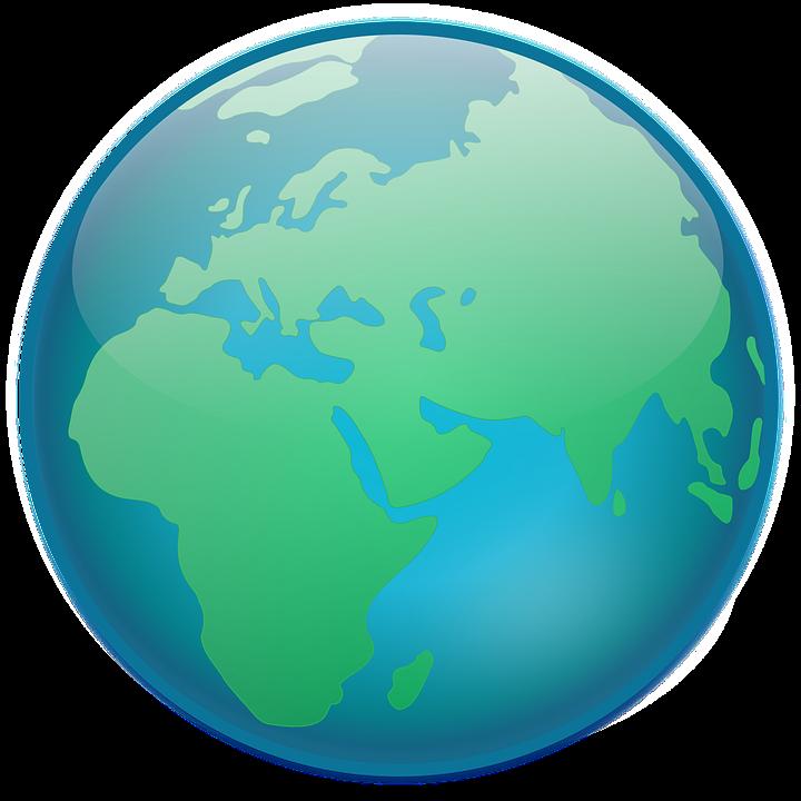 Clipart earth vector. Europe globe free pnglogocoloring