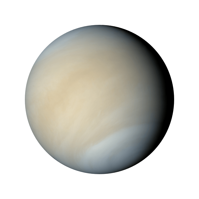 Venus transparent png stickpng. Planet clipart space stuff