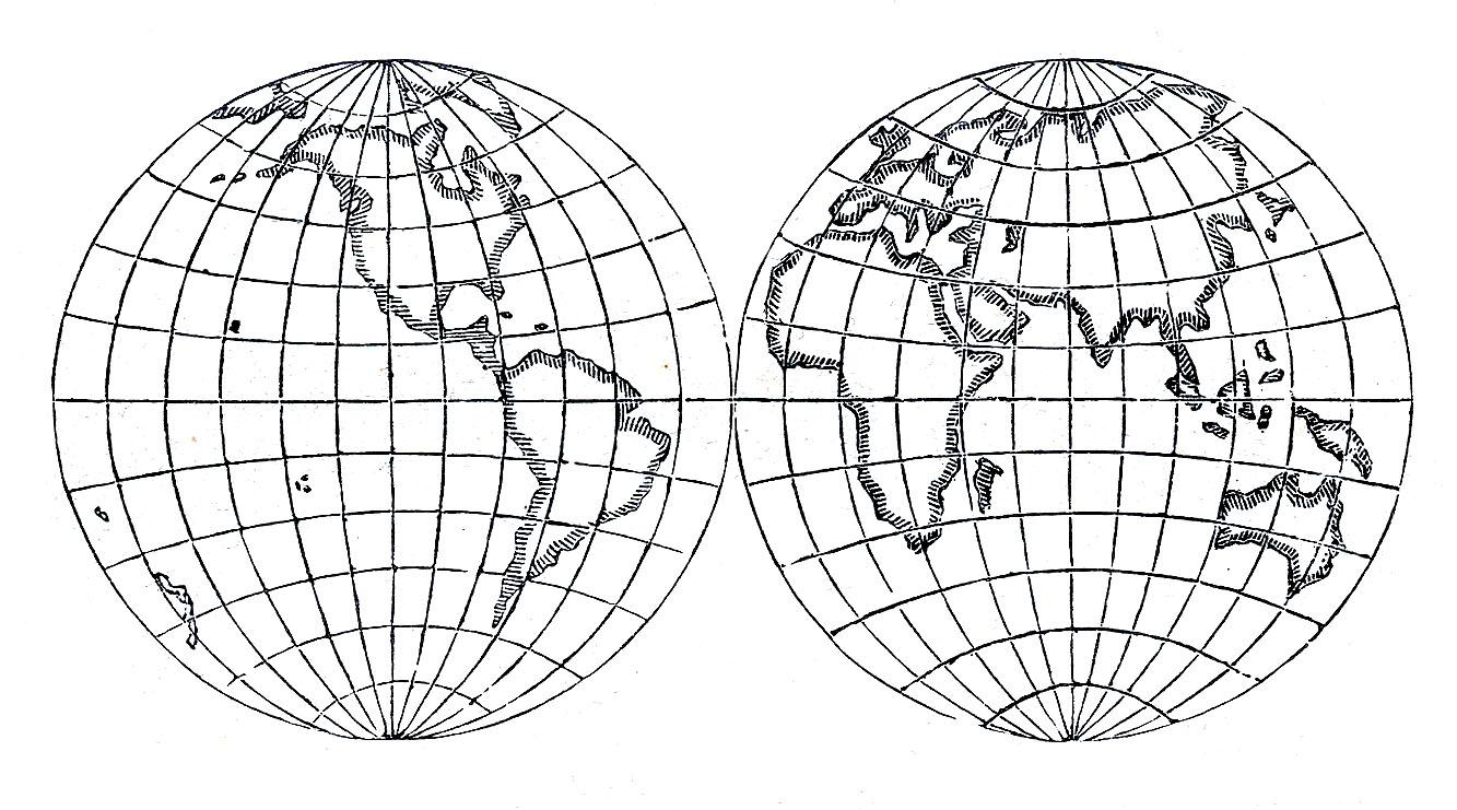 Clipart earth vintage. Clip art globes steampunk