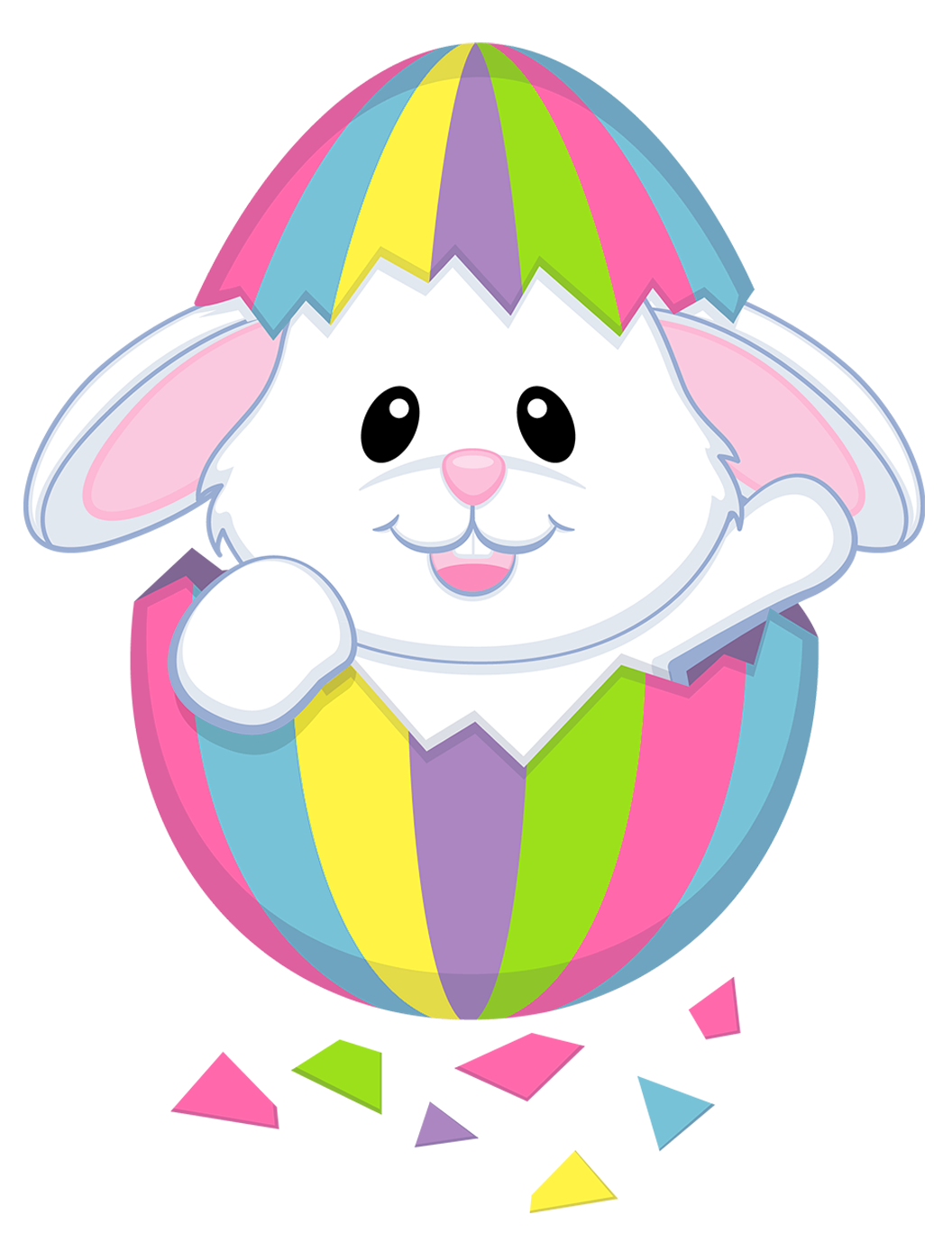 Easter bunny best eggs. Playdough clipart transparent