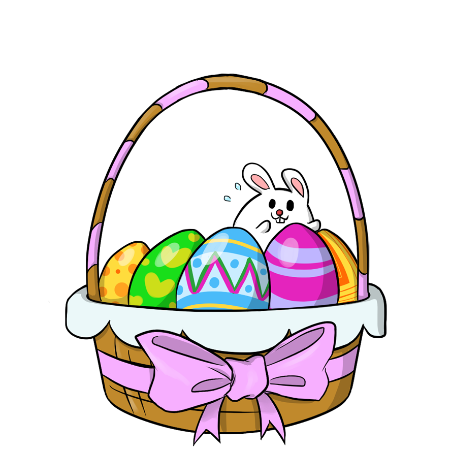 Clip art dr odd. Country clipart easter basket
