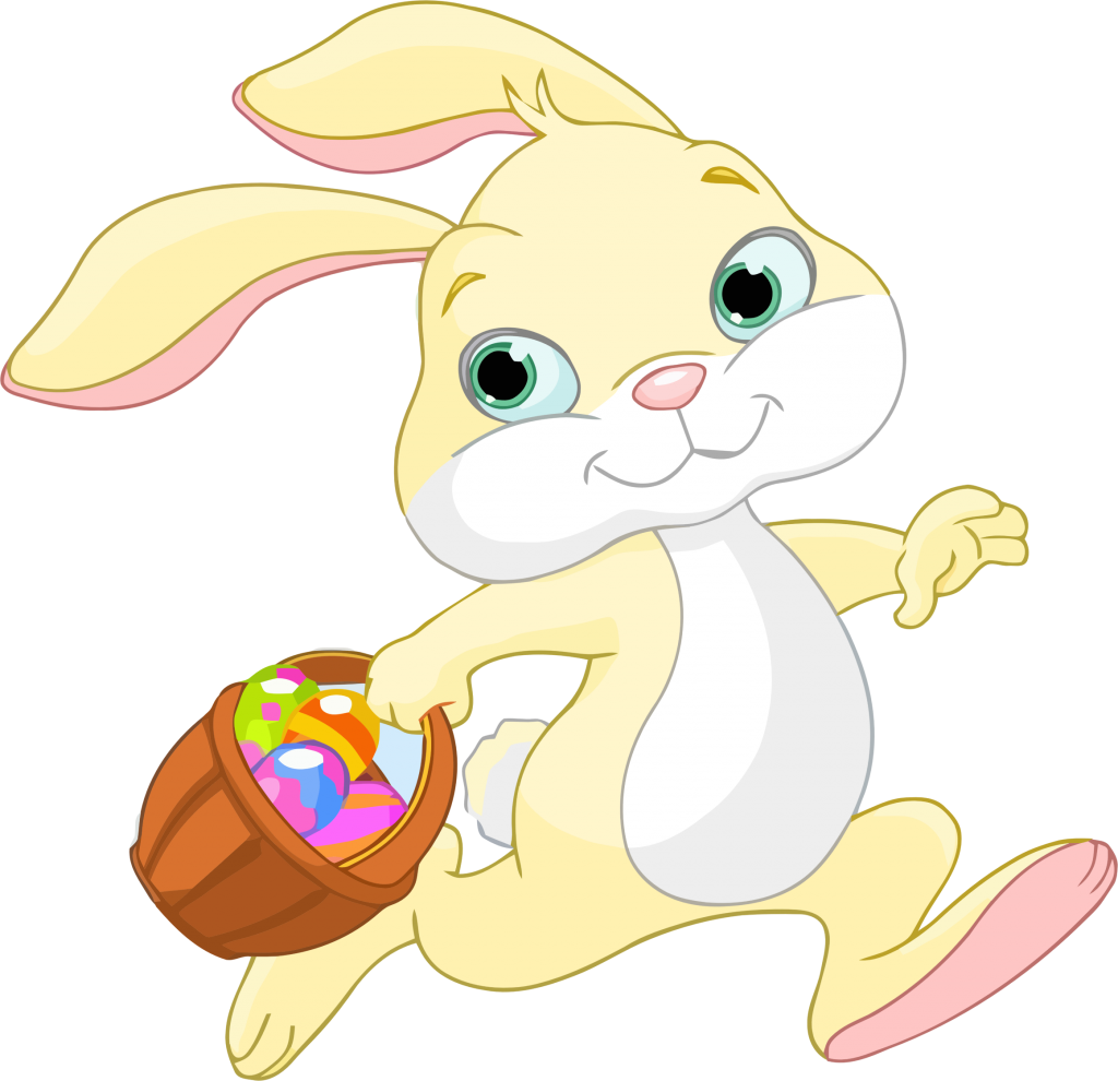 Animated bunny free download. Moving clipart easter