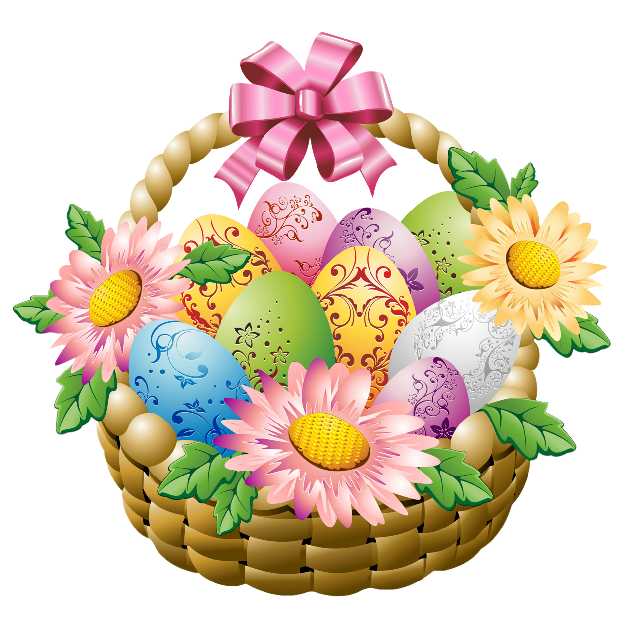 Flowers at getdrawings com. Clipart hat easter