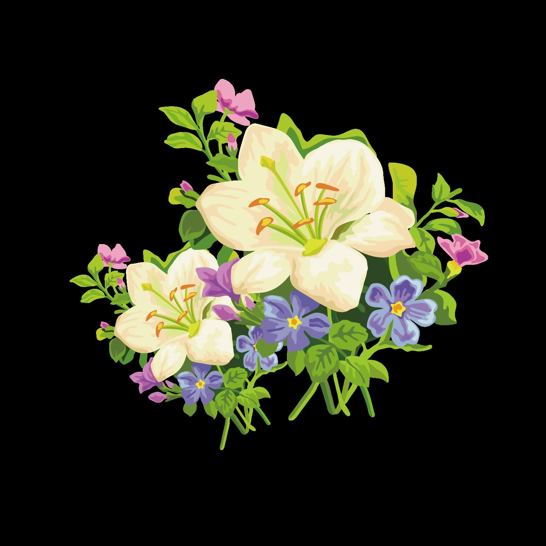 Clipart easter bouquet. Lily amaryllis belladonna flower
