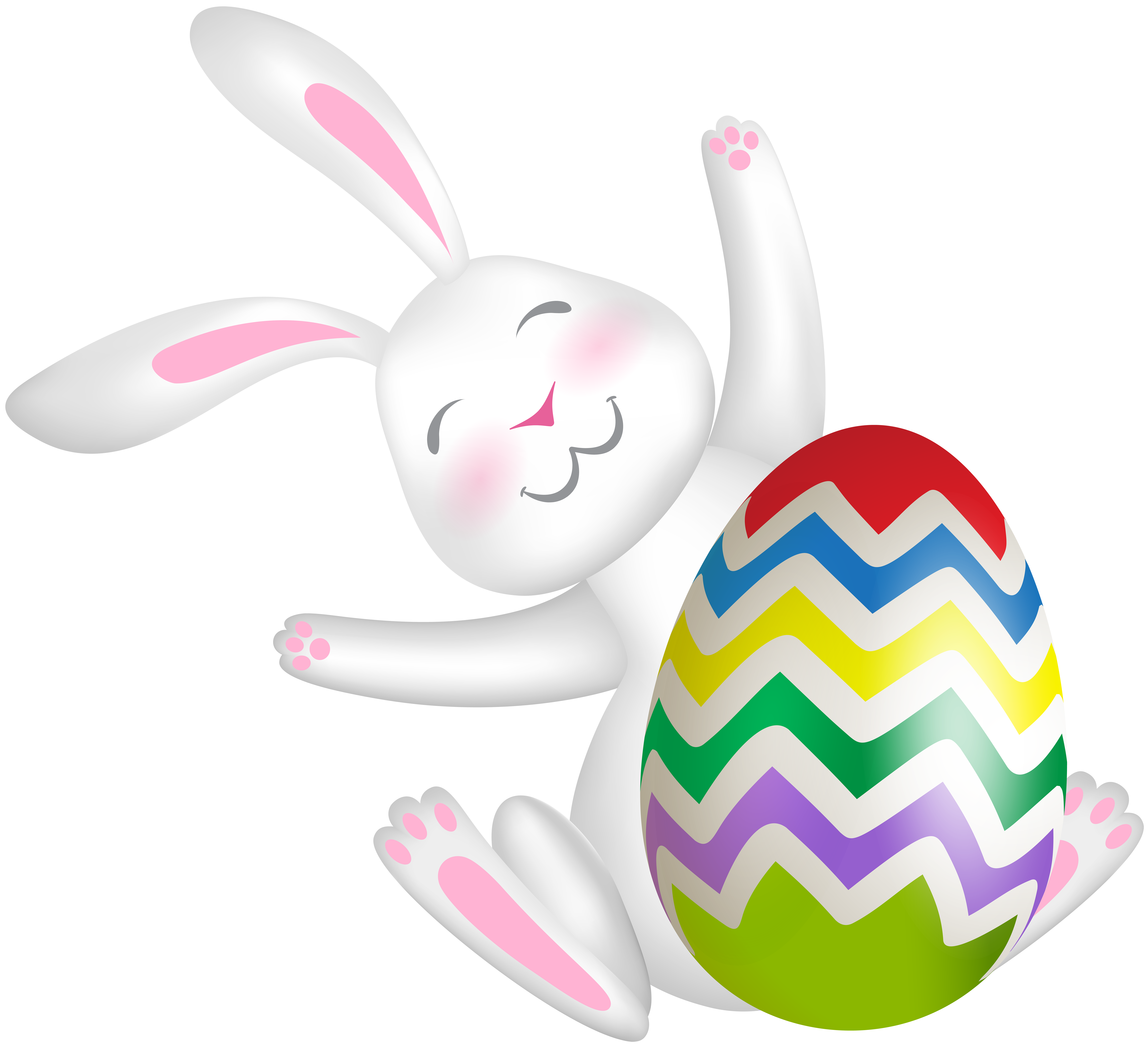 Clipart love easter. Bunny with egg clip