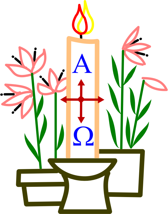Medium image png . Clipart easter candle