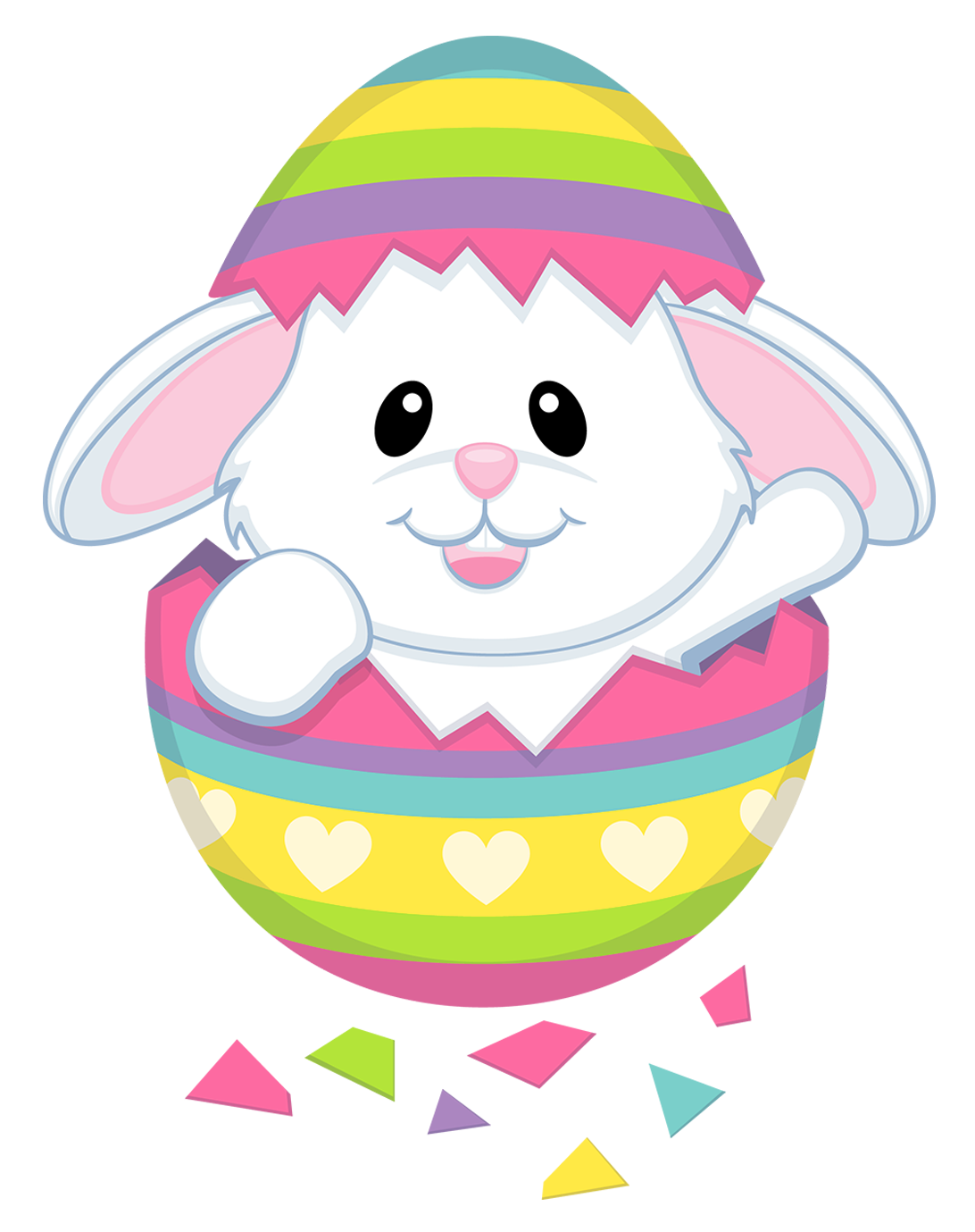 Cute bunny transparent png. Clipart easter character