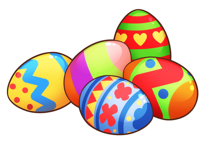 Easter in grass clip. Eggs clipart chocolate