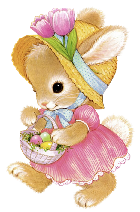 Cute girl png picture. Chick clipart easter bunny