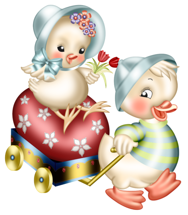 Clipart easter decoration. Chickens png picture gallery
