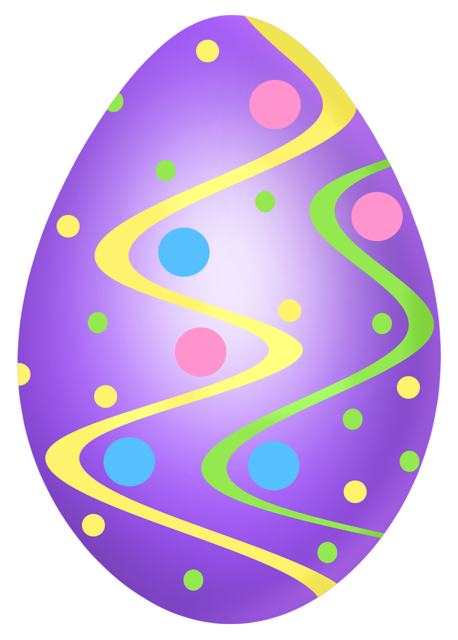 Purple egg png picture. Clipart easter decoration