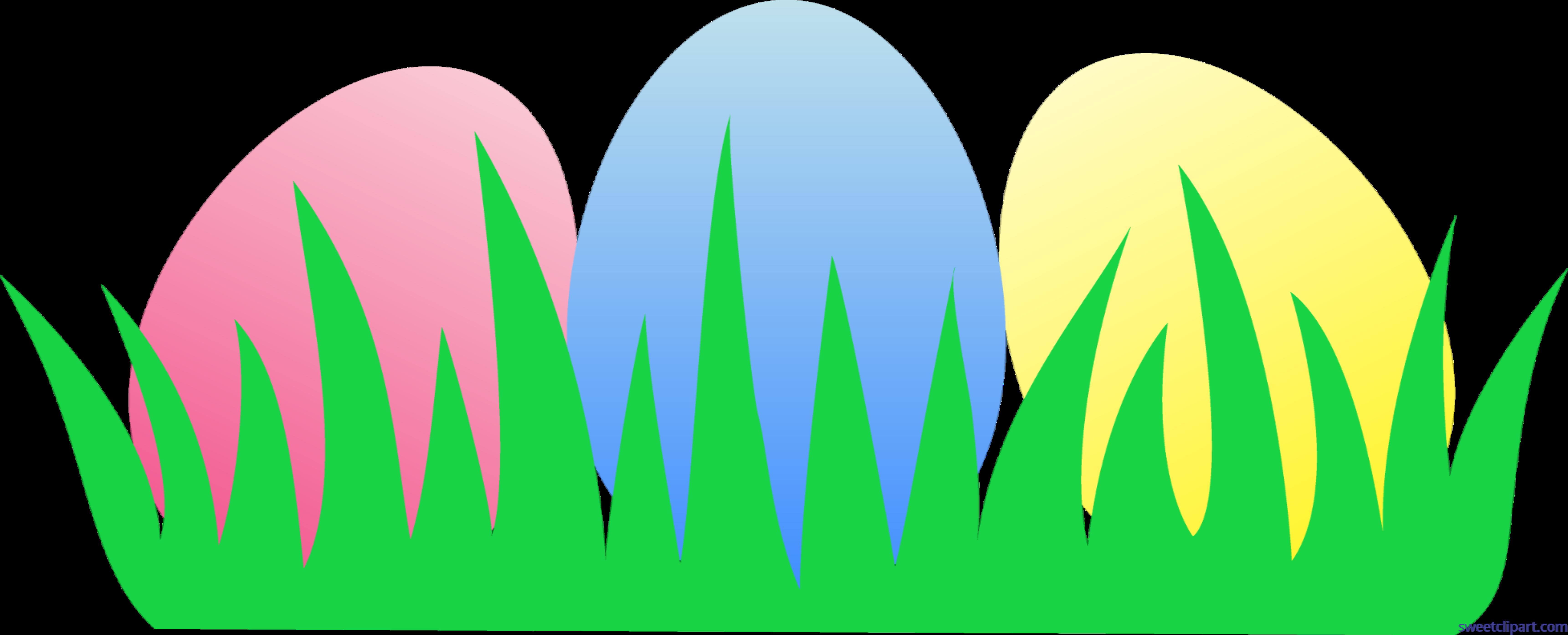 Clipart grass easter egg. Eggs clip art sweet
