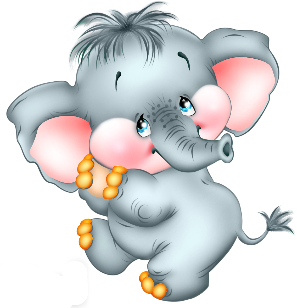 Elephant Clipart Easter Elephant Easter Transparent Free For