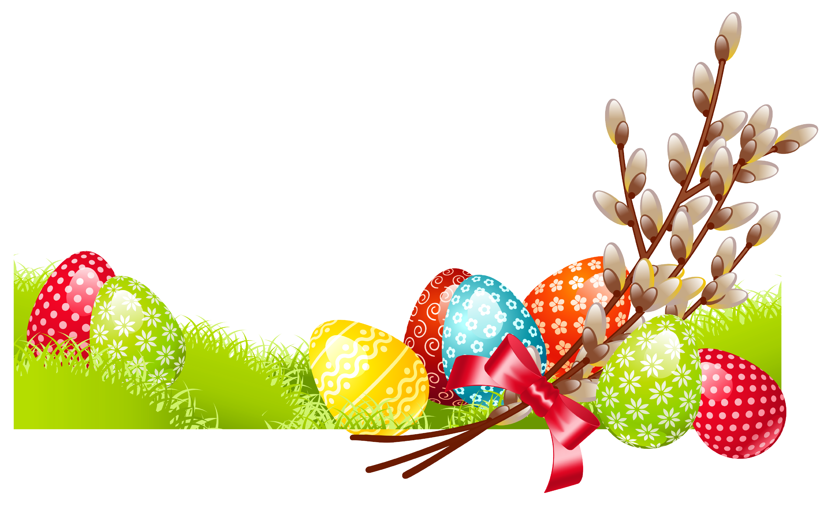 Deco with eggs png. Clipart trees easter egg