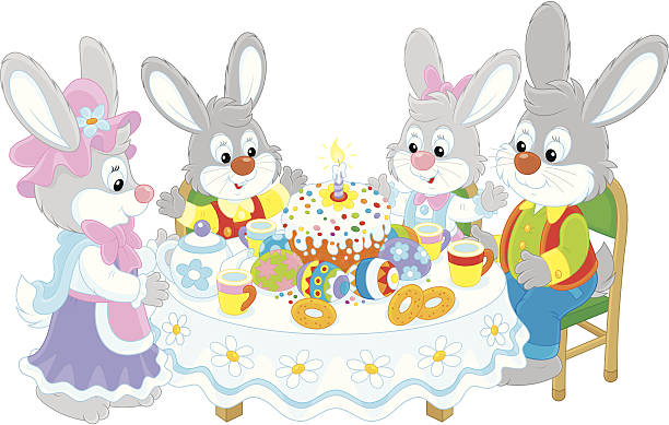 Clip art arts for. Clipart easter family
