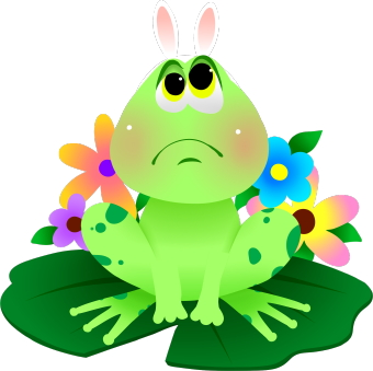 Frog clip art library. Frogs clipart easter