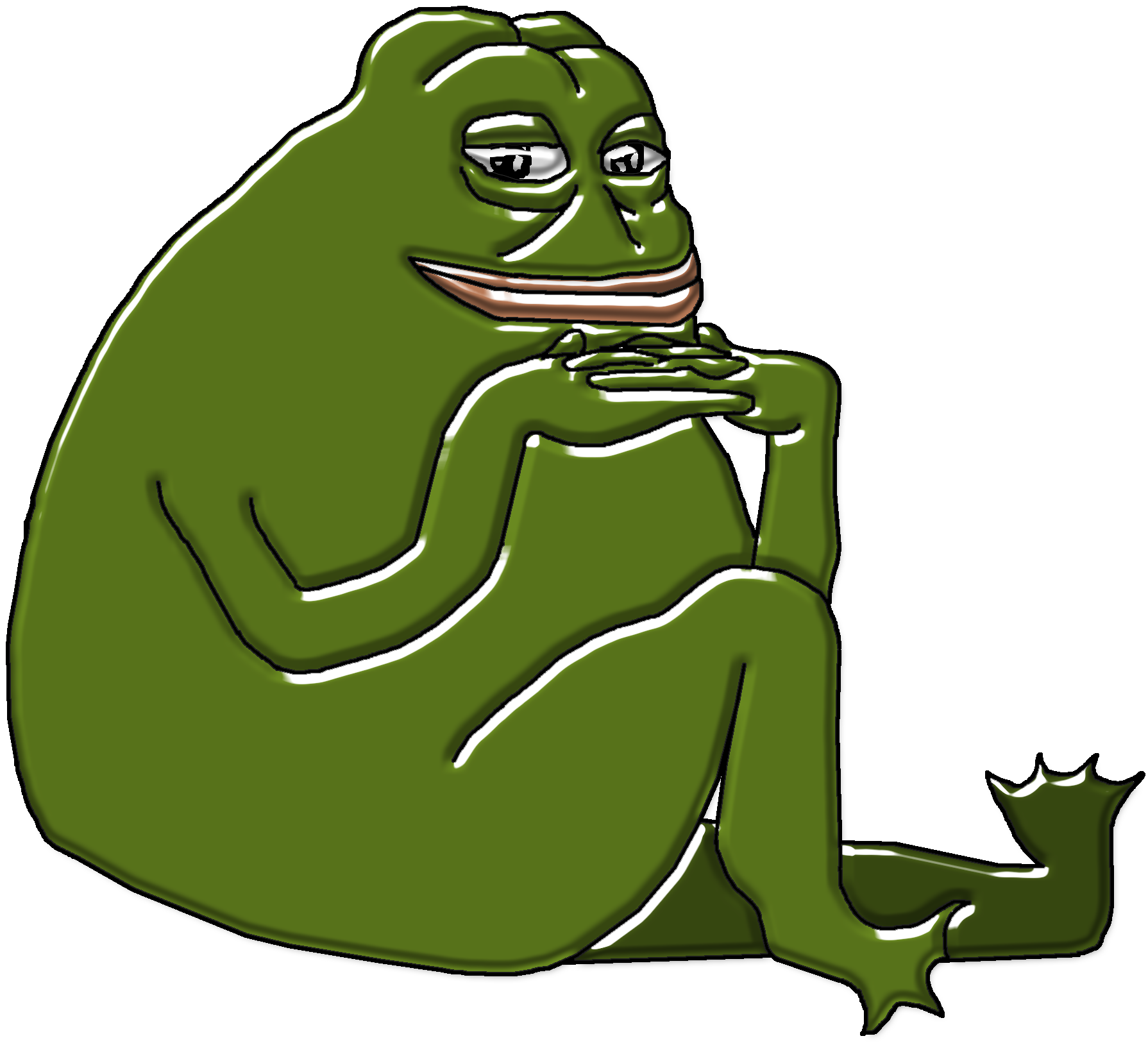 Toad clipart many frog. Hq pepe the know