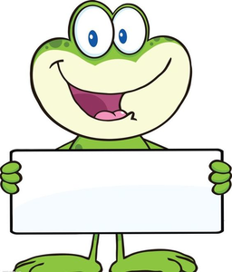 Frog clipart easter. Free images at clker