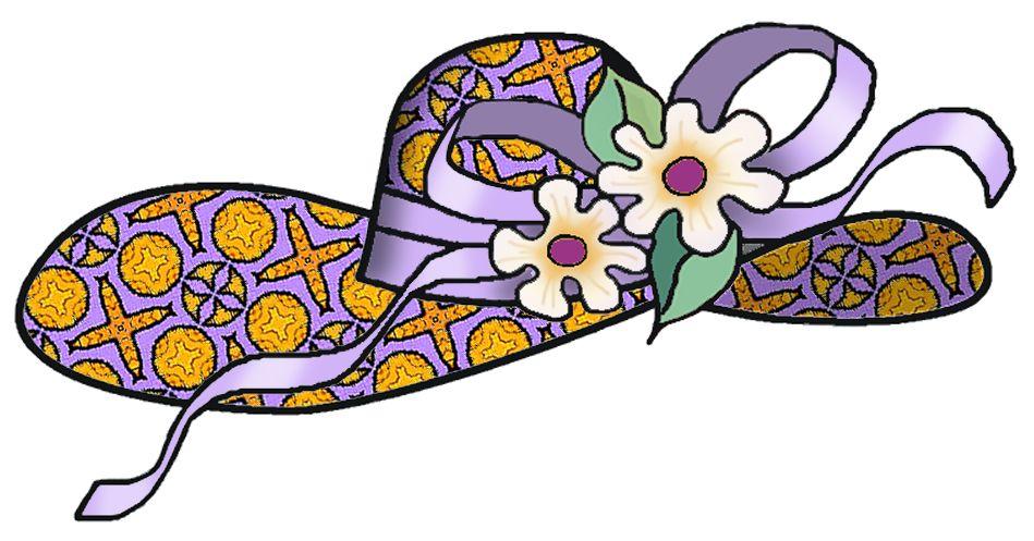 Hats bonnet ideas designs. Clipart easter hat
