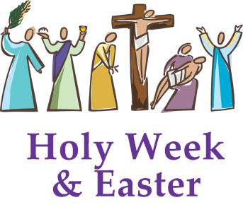 Clipart easter holy week.