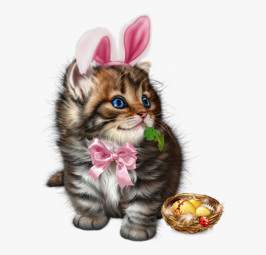 Easter clipart kitten. Whiskers cat clip art
