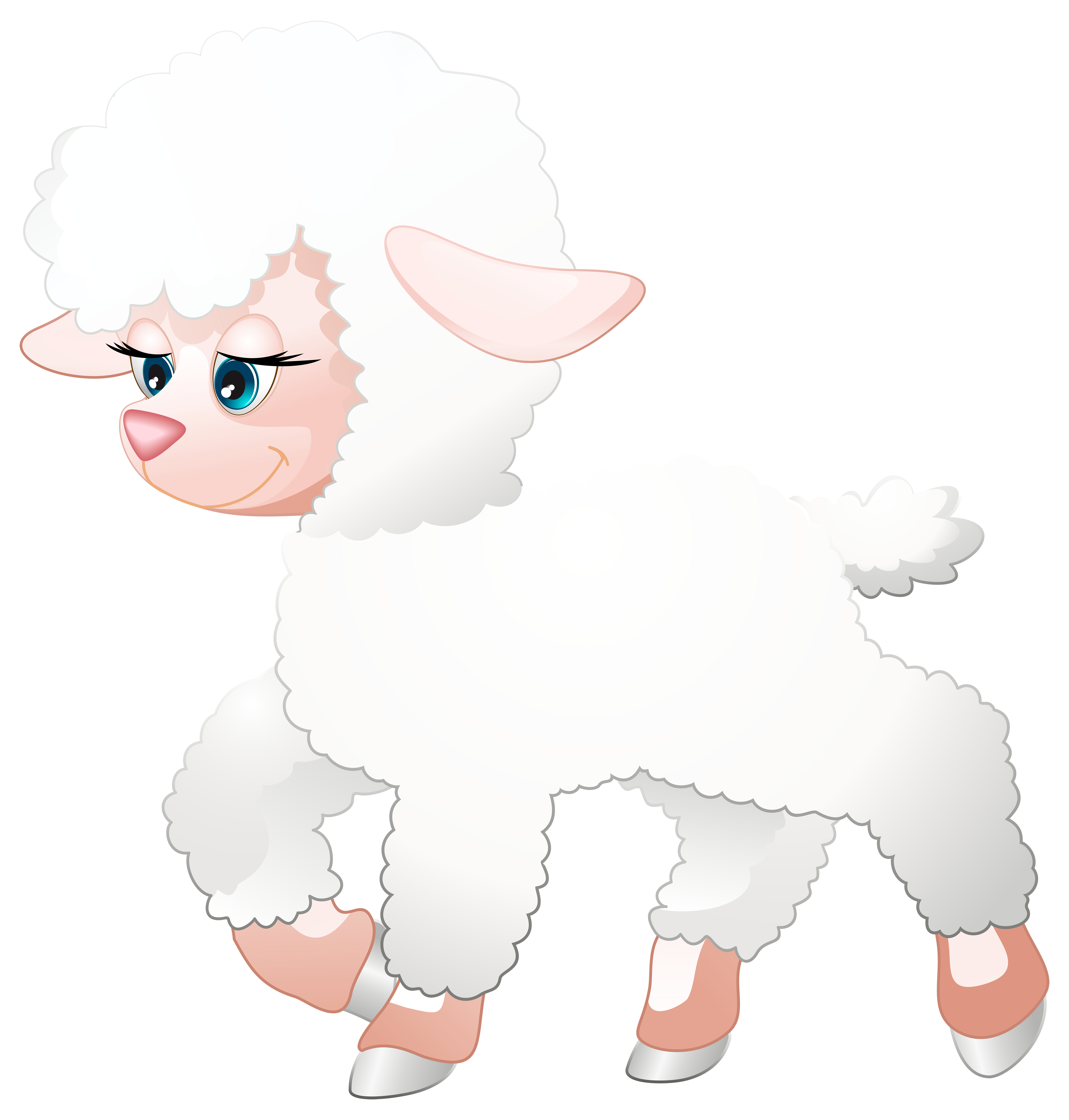 Lamb clipart sheep group. Cute transparent png clip