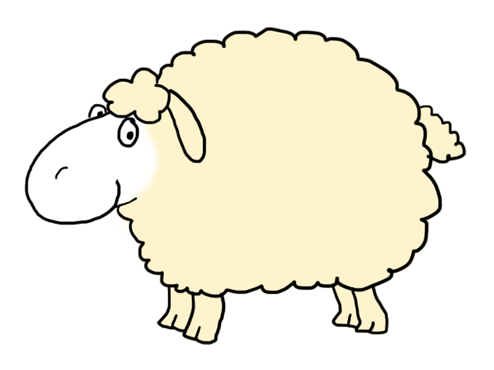 Sheep clipart dancing. Funny and cute easter