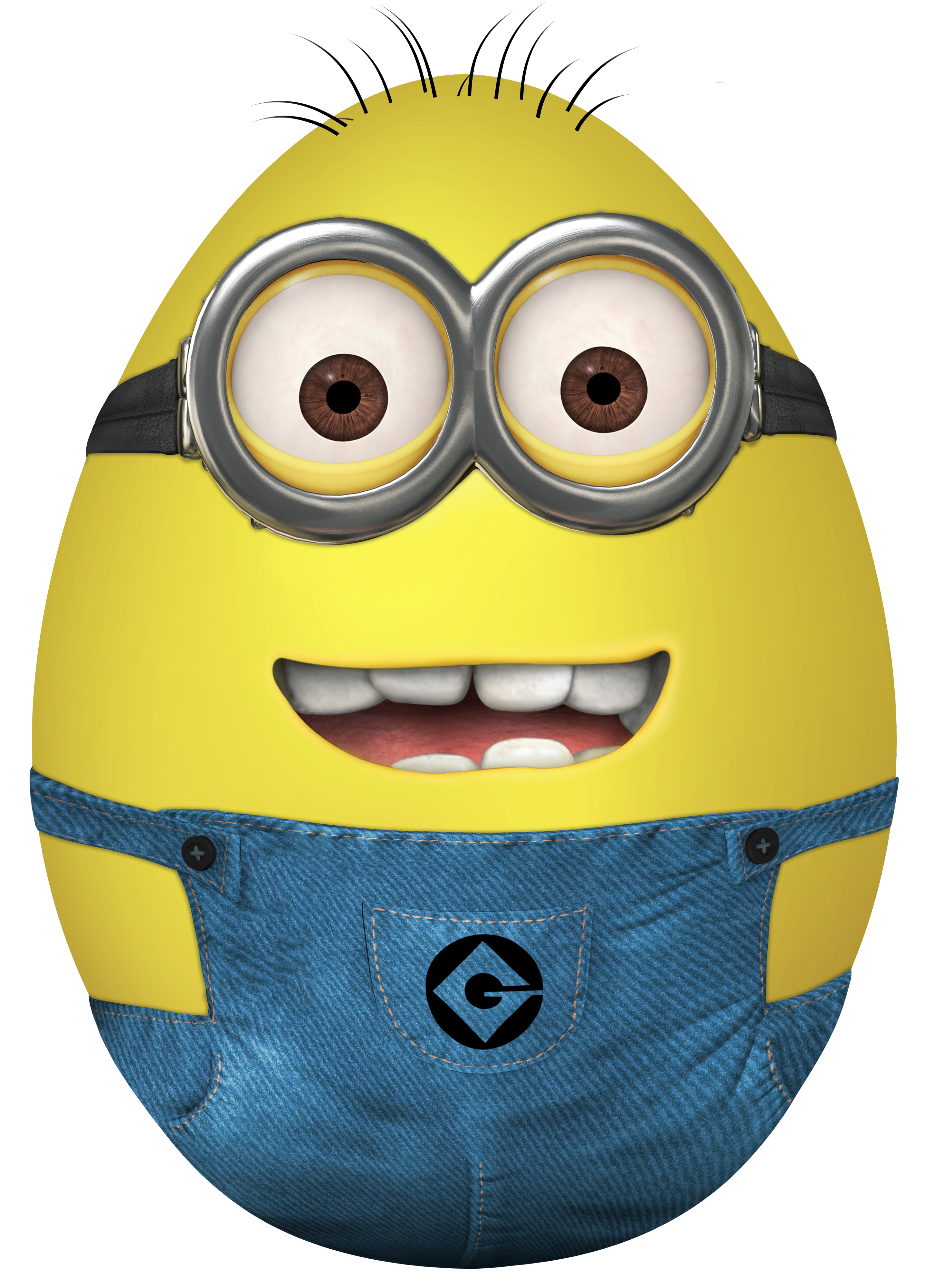 Minion egg transparent png. Minions clipart easter