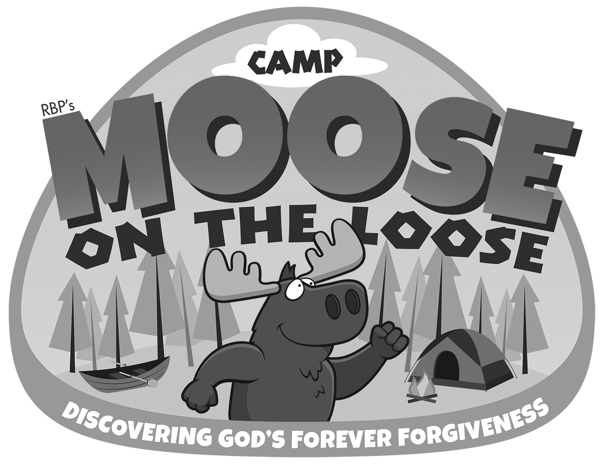 Vbs themes camp on. Moose clipart word