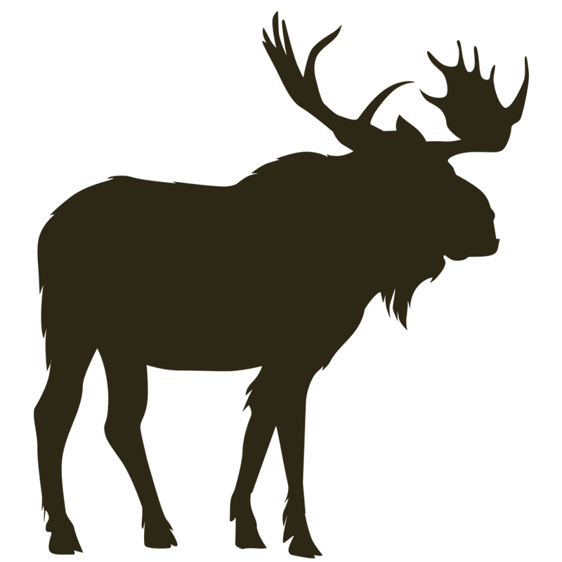 Home north river outfitting. Deer clipart mountain