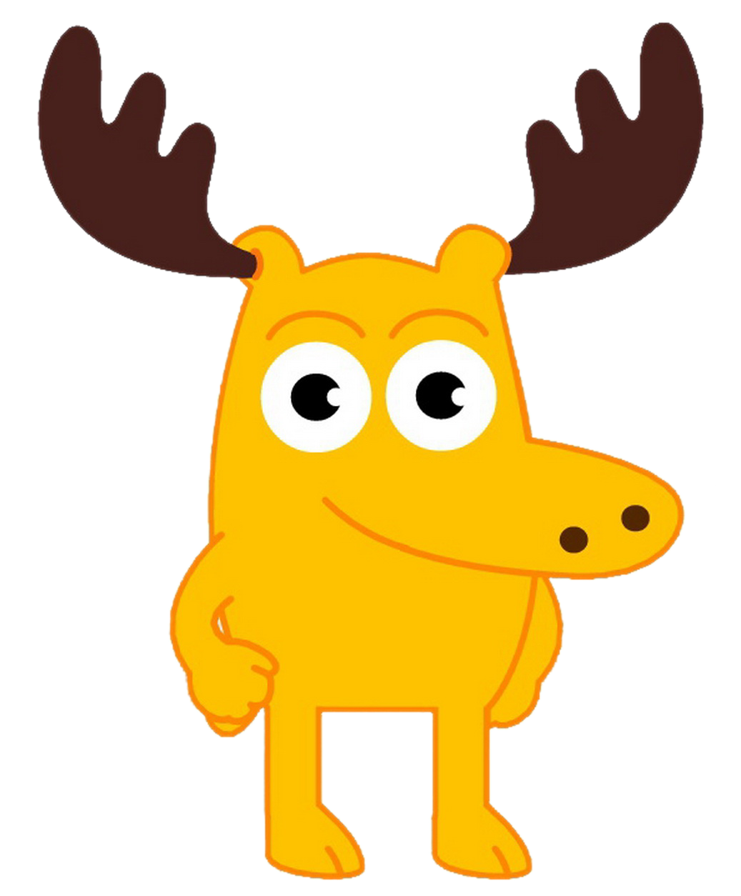 Image a png dream. Clipart easter moose