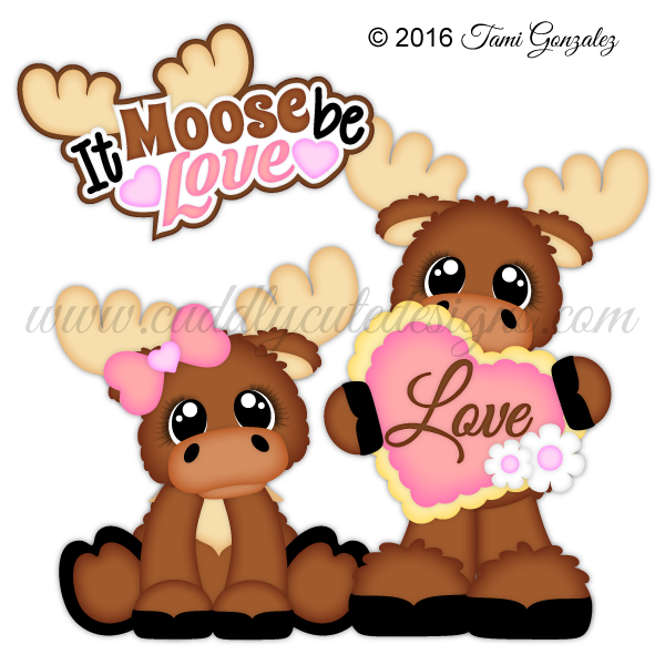 Clipart easter moose. Lovevalentine s day it