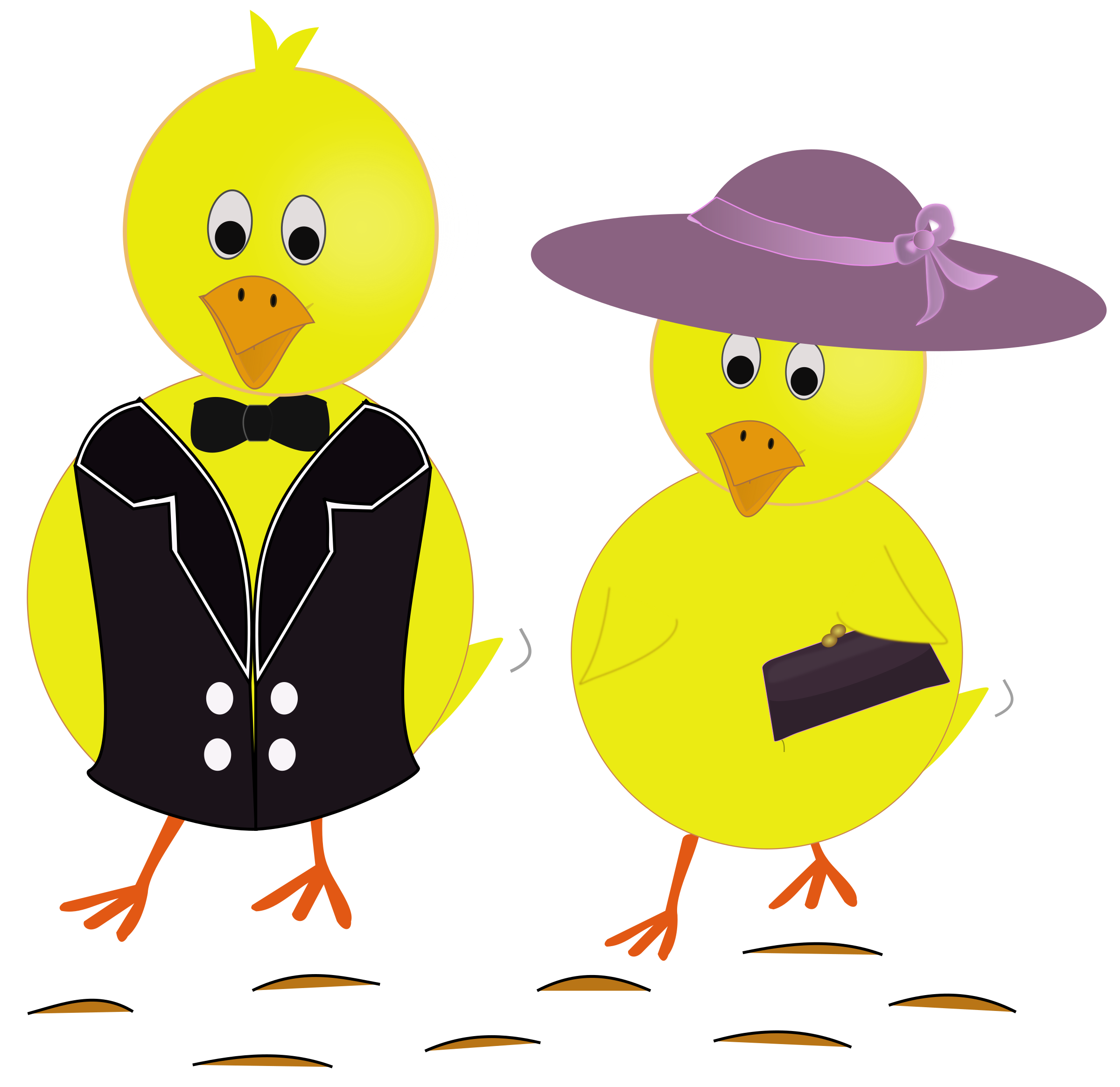 Sunday chicks big image. Ducks clipart easter