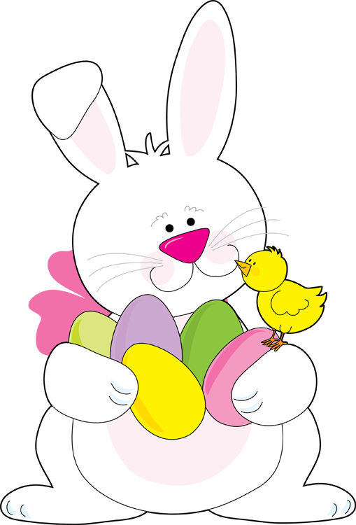 Scrapbook clipart easter. Bunny at getdrawings com