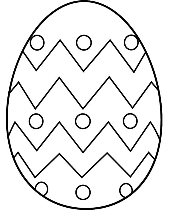 Raffle clipart black and white. Egg outline pencil in