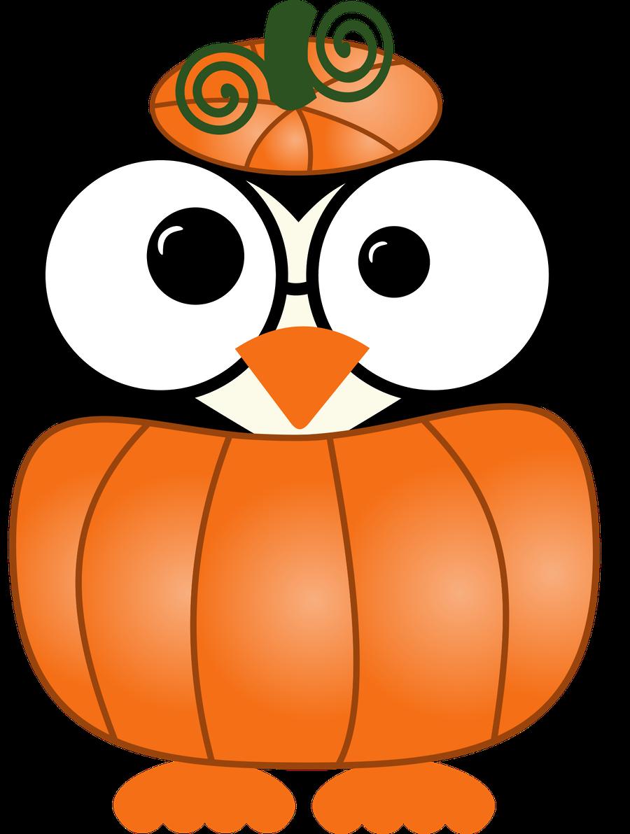 Owl group corujas minus. Clipart halloween whimsical