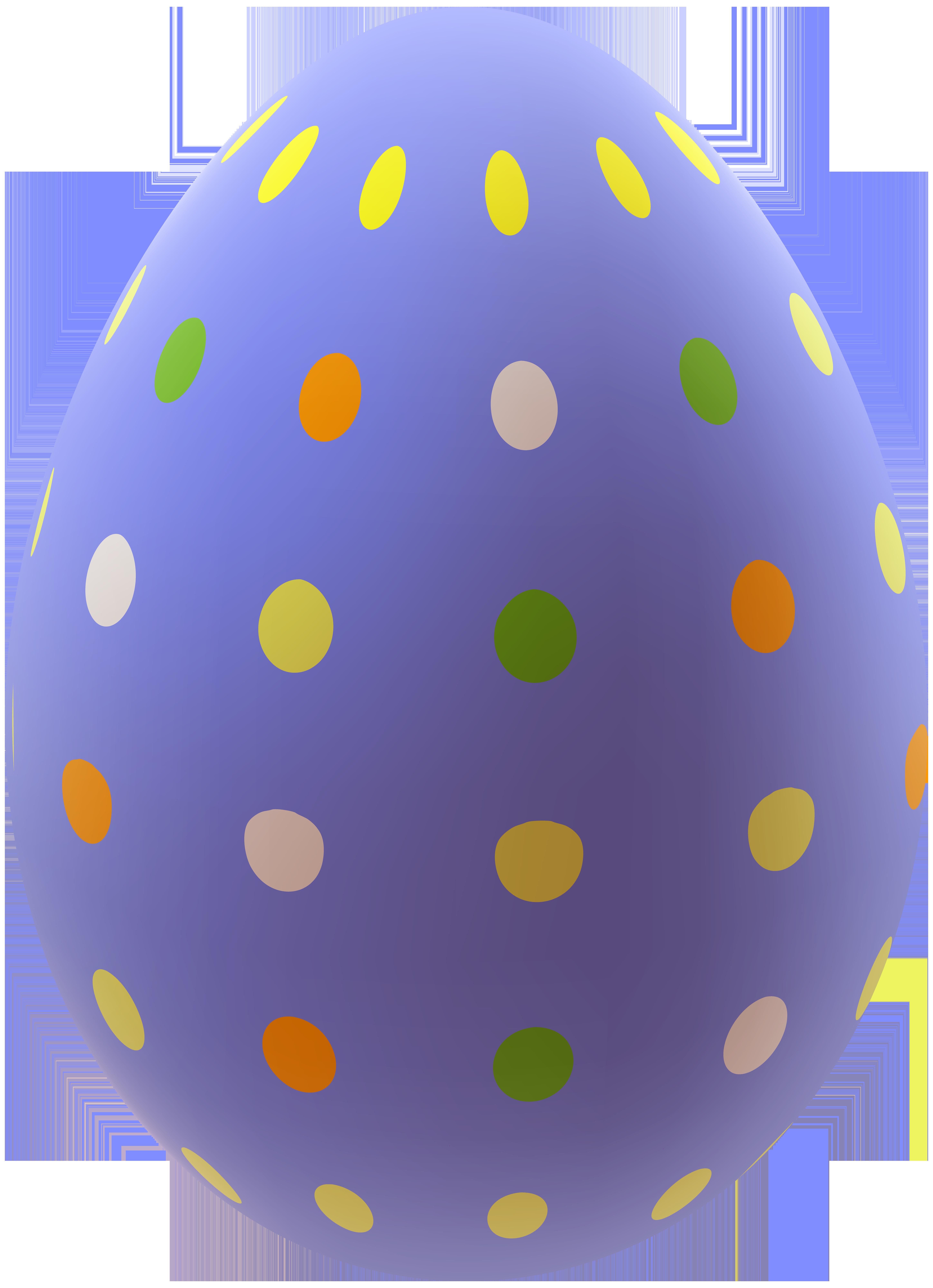 Easter egg png clip. Dot clipart purple