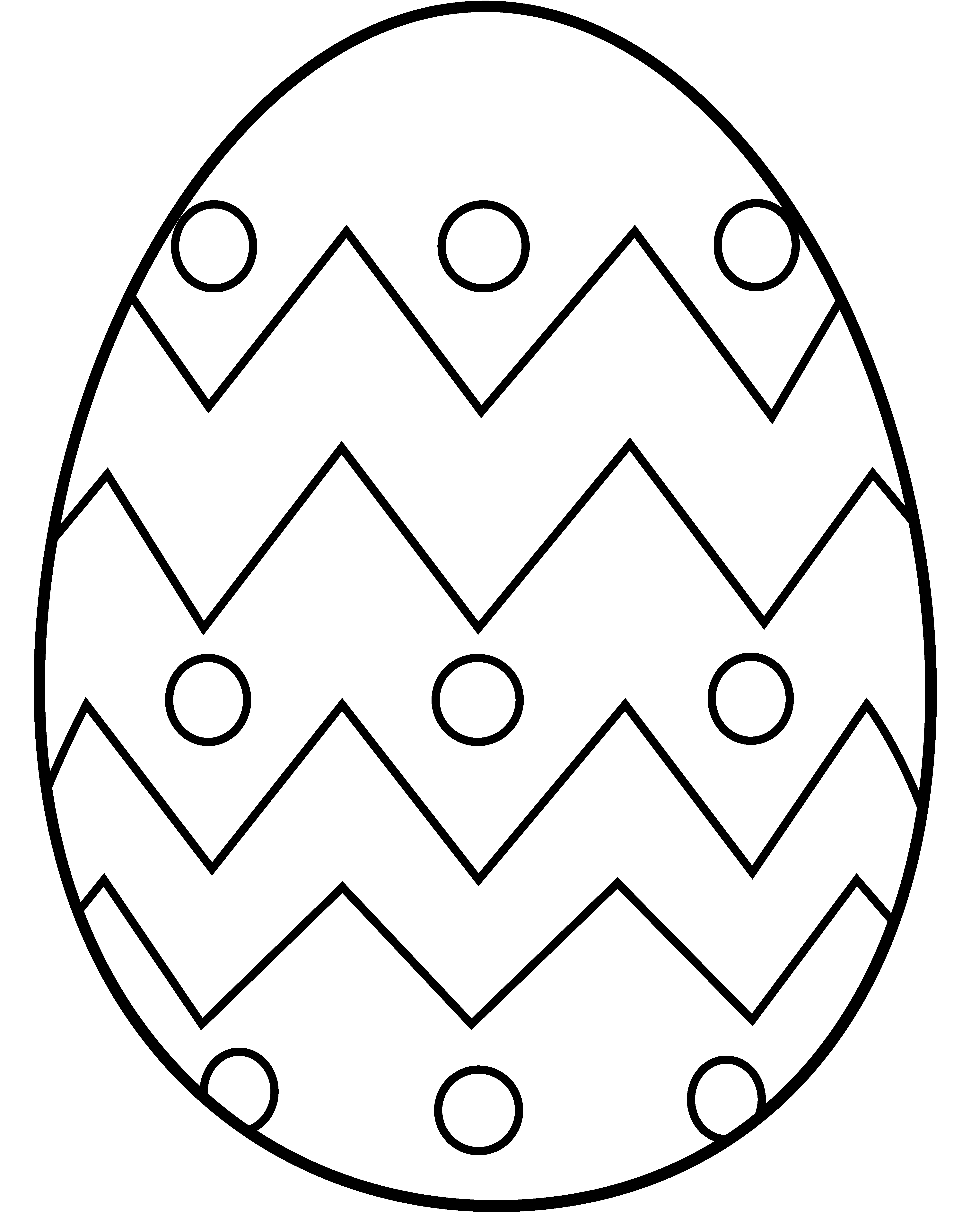 Puzzle clipart easter egg. To color in kolorowanki