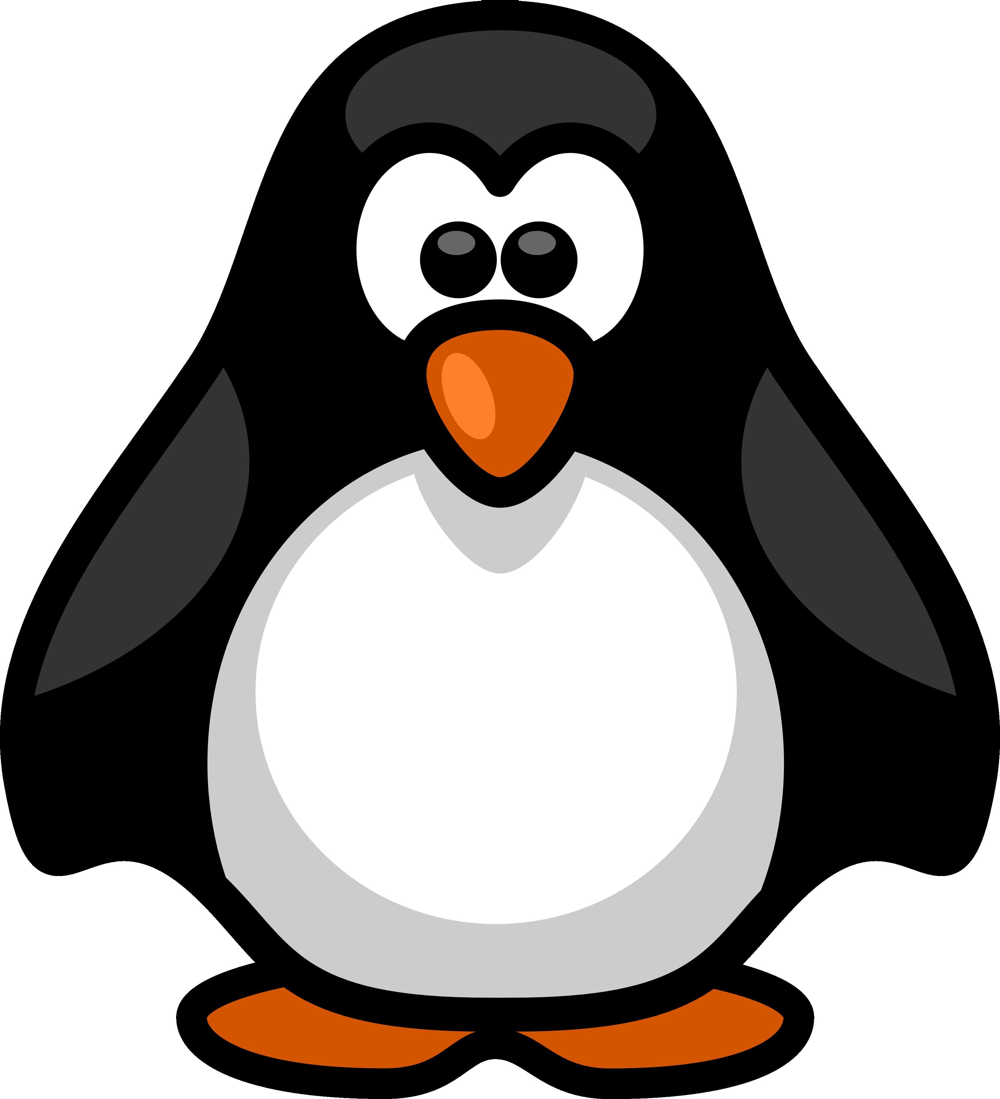 Halloween clipart penguin. Little coloring penguins pinterest
