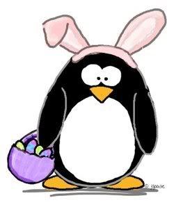 Clip art penguin arts. Clipart penquin easter