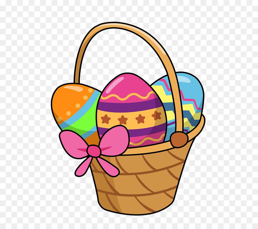 Bunny background basket food. Picnic clipart easter