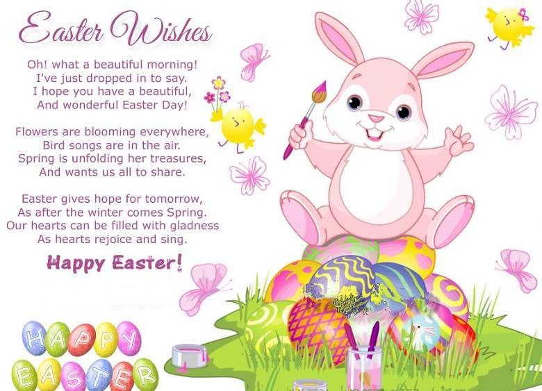 In poems quotes . Clipart easter poem