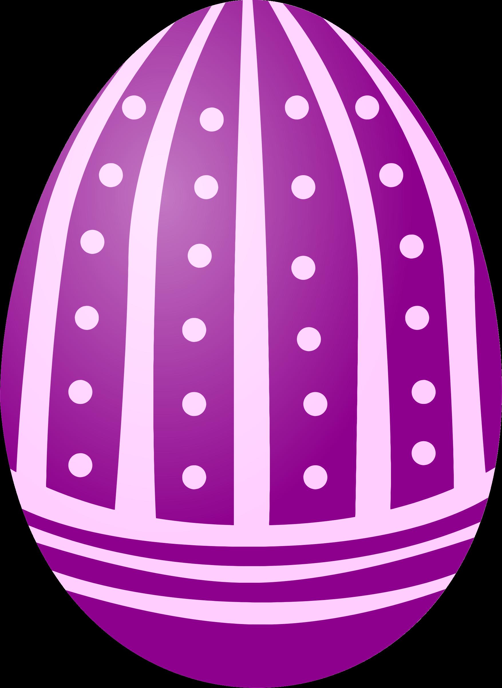 Dot clipart purple. Easter egg big image