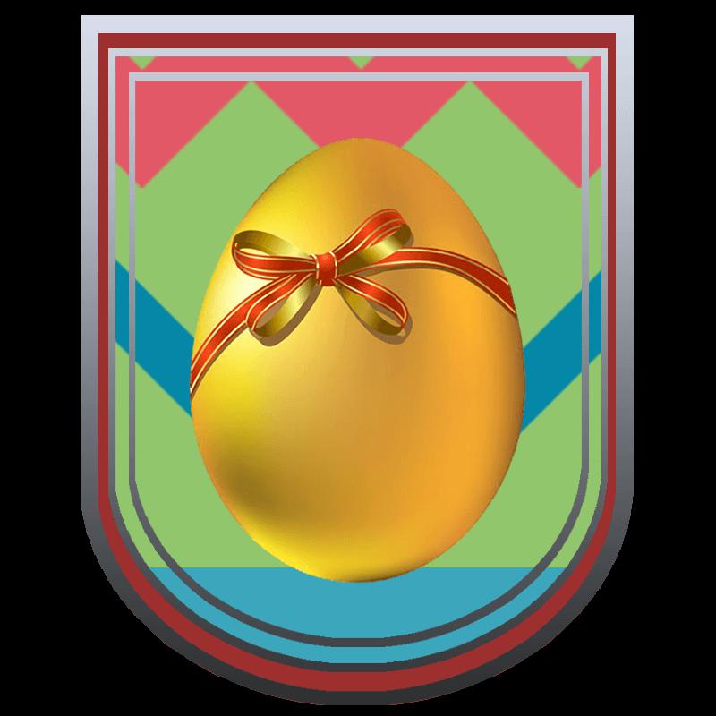 Egg hunt grind trophy. Clipart easter raffle