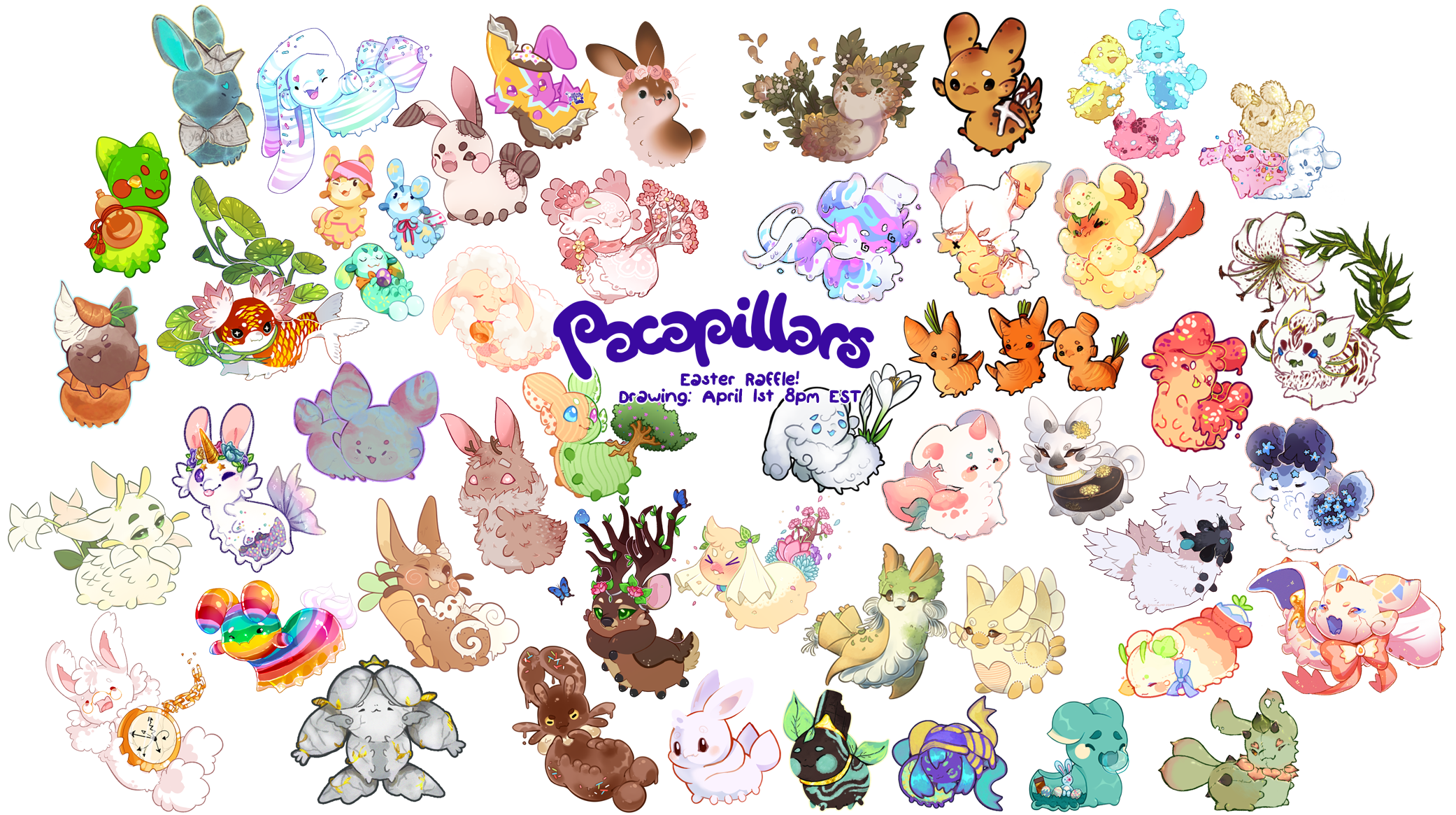 Clipart easter raffle. Spring pacadvent k reveal