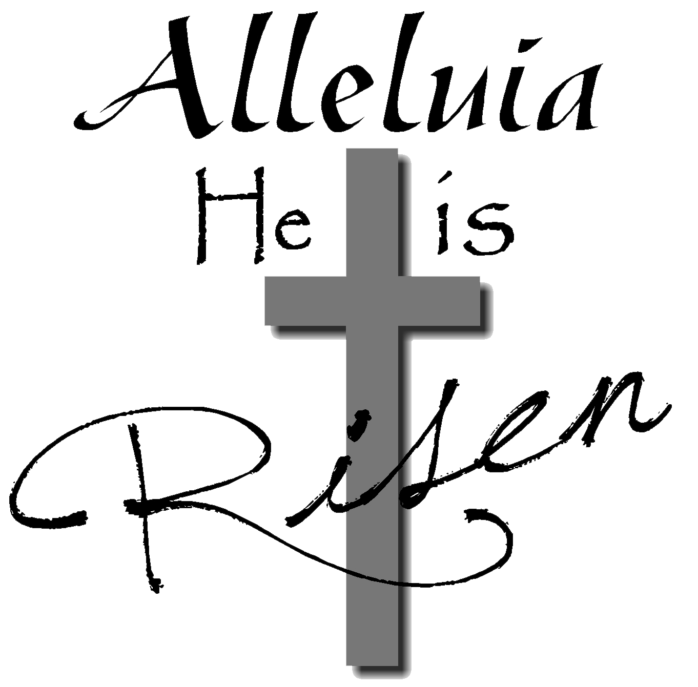 collection of religious. Clipart easter service