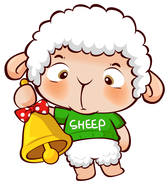 Transparent christmas png gallery. Lamb clipart leaping sheep