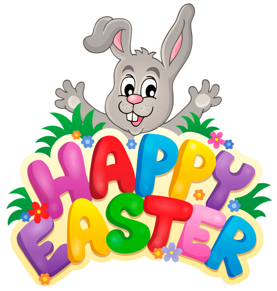 Clipart easter sign. Bunny at getdrawings com