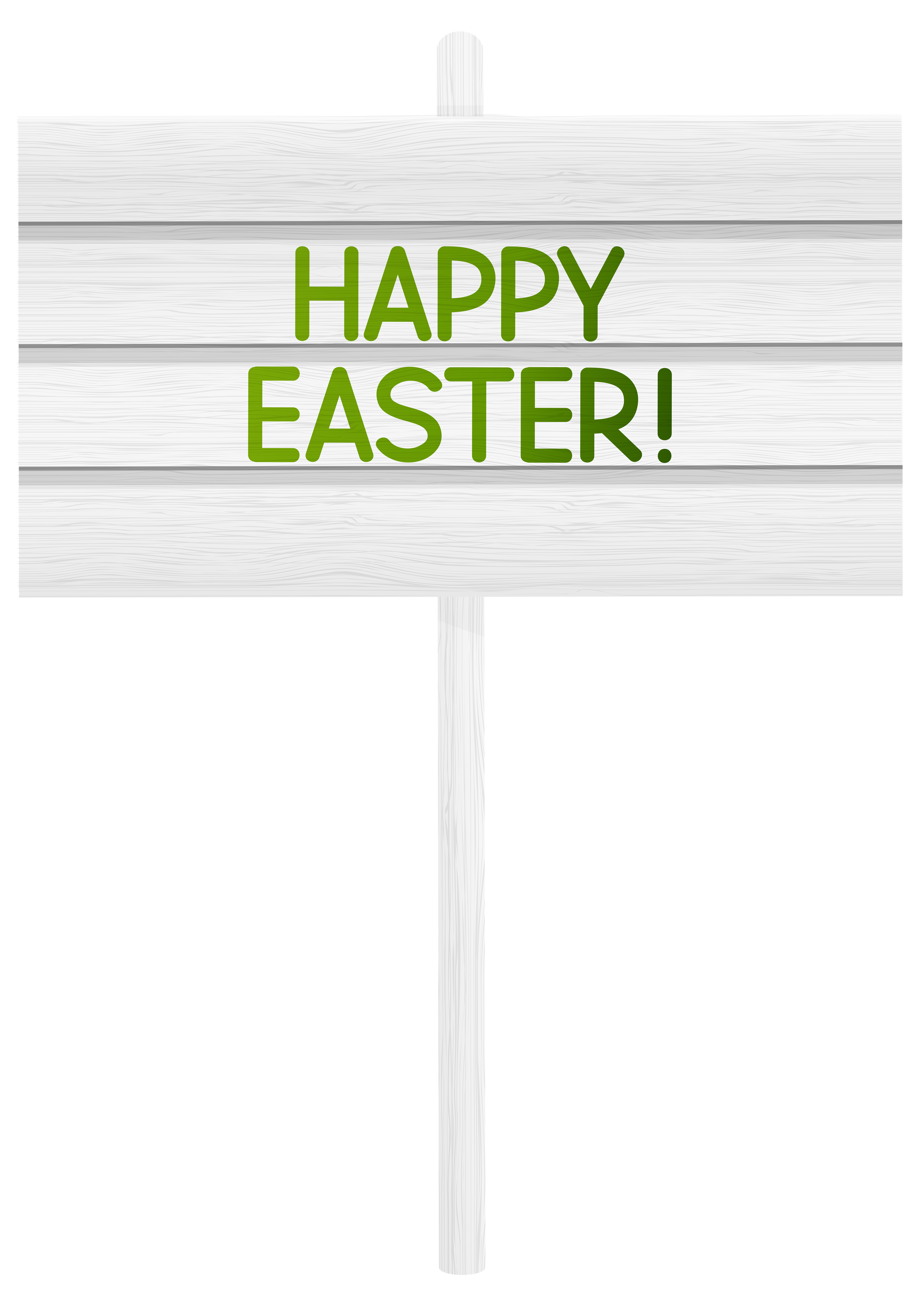 clipart easter sign
