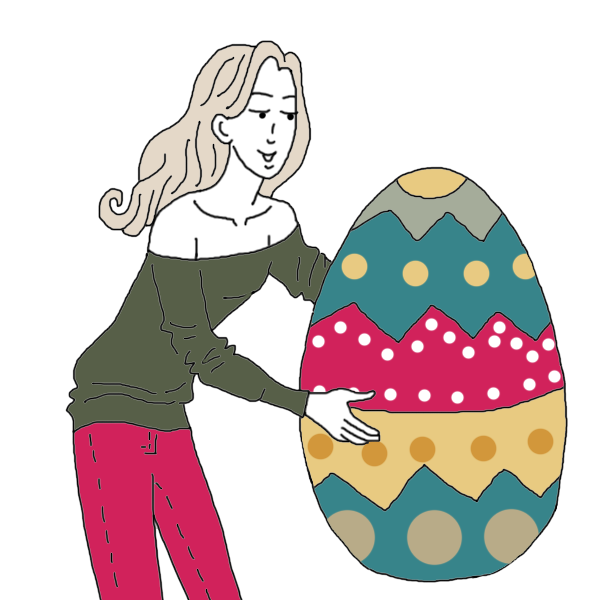 clipart easter tomb